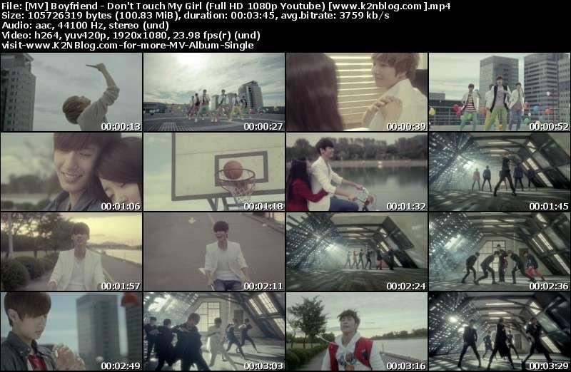 [MV] Boyfriend   Dont Touch My Girl (Full HD 1080p Youtube)