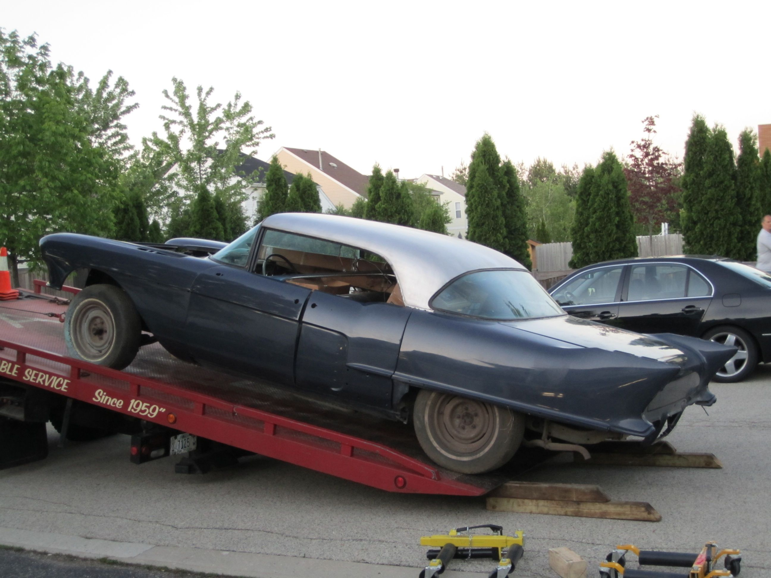 Re: 1957 Eldorado Brougham #70 getting pulled out of retirement